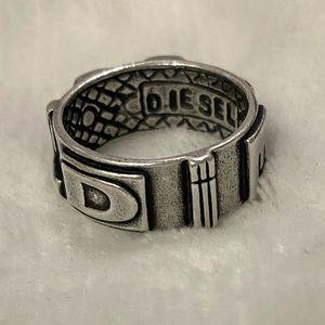 Diesel Silver Ring